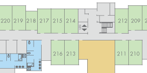 View Currant Hall floor plans