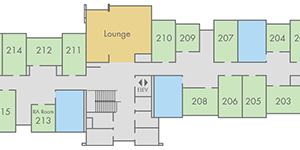 View Madrone Hall floor plans