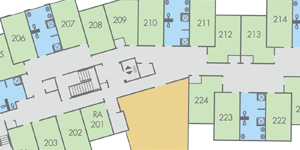 View Thompson Hall floor plans