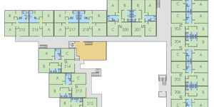 View Webster Hall floor plans