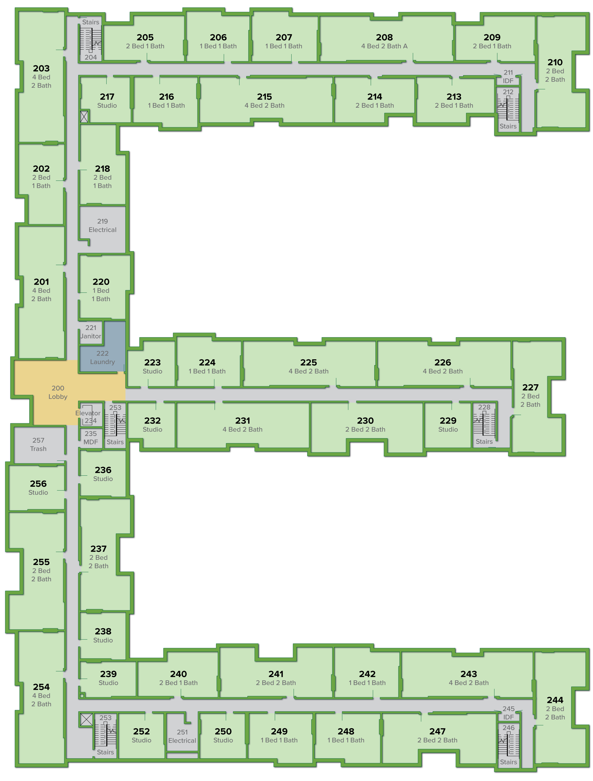 298 Celadon Street Floor Plans The Green At West Village Floor Plans Uc Davis Student Housing And Dining Services
