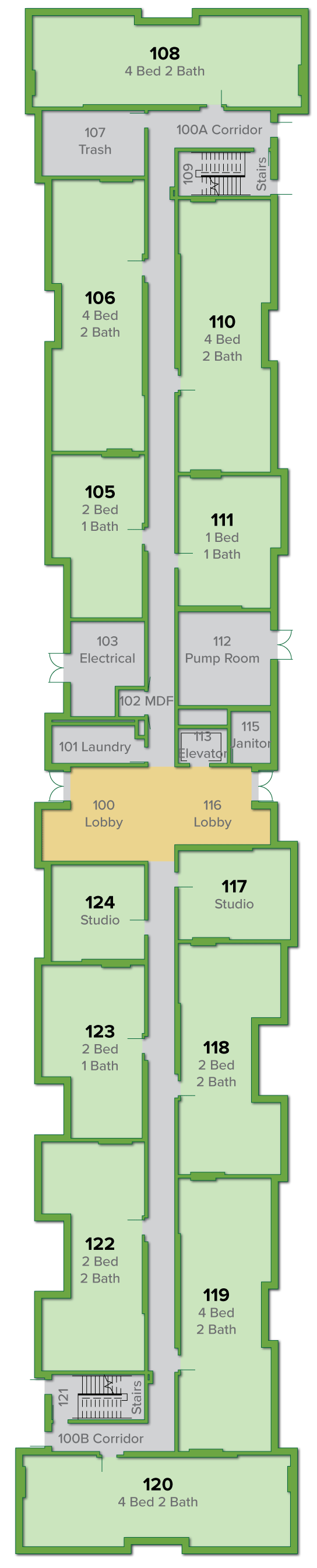 I1 Building, First Floor