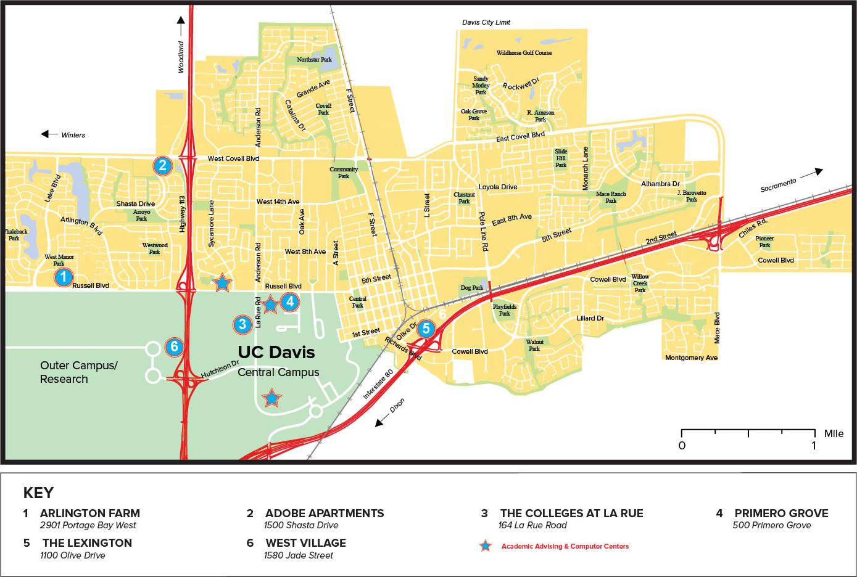 Davis Map on