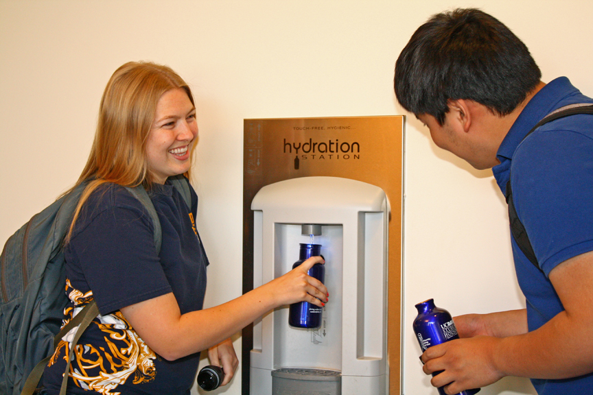 Water Refill Stations | UC Davis Student Housing and Dining